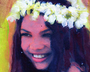 Hula Girl -sold